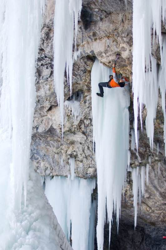 mixed ice                         climbing